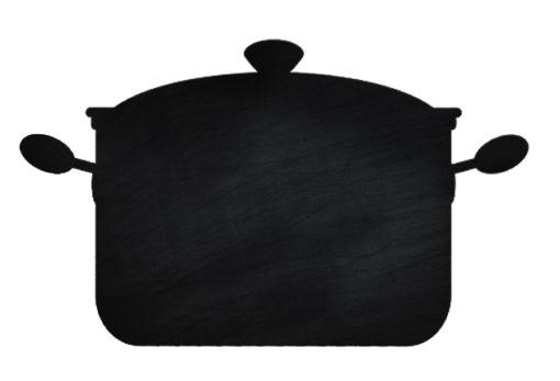 Chalkboard-Pot