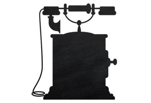 Chalkboard-Telephone