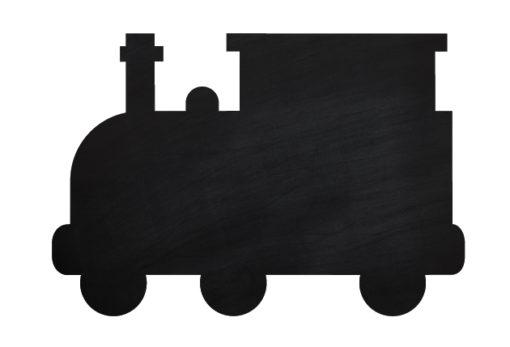 Chalkboard-Train